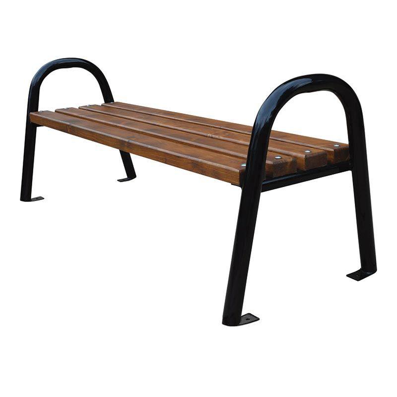 Lavička venkovní Modern bez opěradla roura 180 cm RB Garden - vše pro venkovní posezení na zahradě a na terase
