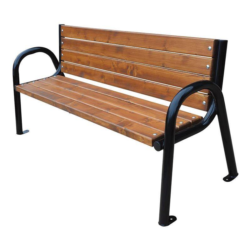 Lavička venkovní Modern roura 180 cm RB Garden - vše pro venkovní posezení na zahradě a na terase