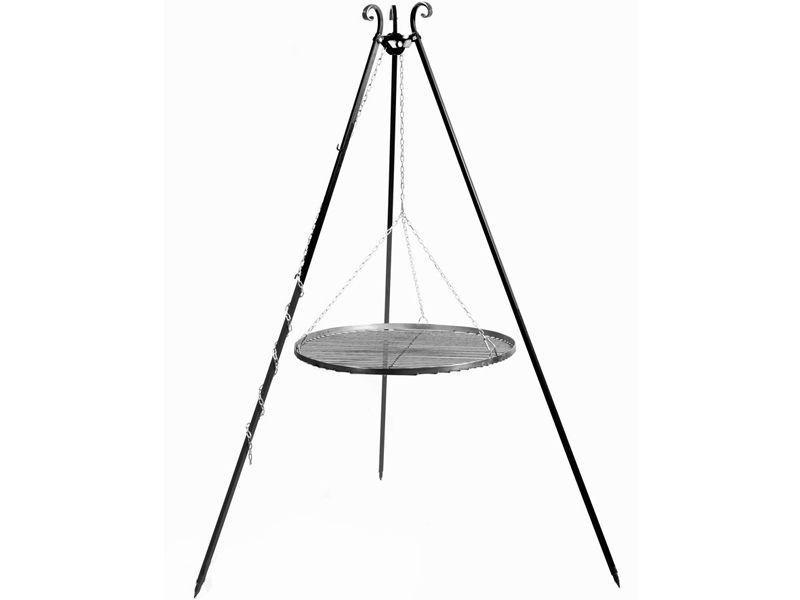 Cook King Trojnožka s roštem 70 cm - vše pro venkovní posezení na zahradě a na terase
