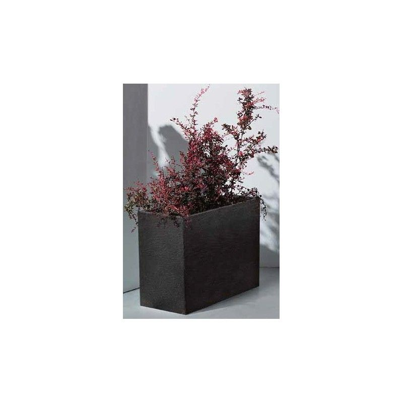 Designový truhlík CAPRI 60x60x26 cm antracit Lienbacher - vše pro venkovní posezení na zahradě a na terase