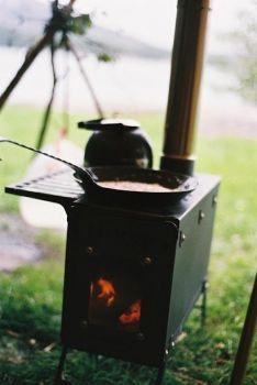 Harrie Leenders Fältovn - krbová kamna přenosná - vše pro venkovní posezení na zahradě a na terase