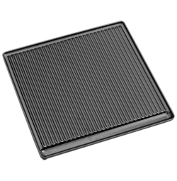 Litinová grilovací deska vroubkovaná