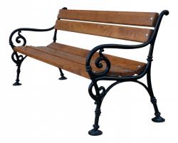 Litinová lavička venkovní Vídeň 150 RB Garden - vše pro venkovní posezení na zahradě a na terase