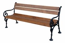 Litinová lavička venkovní Vídeň 180