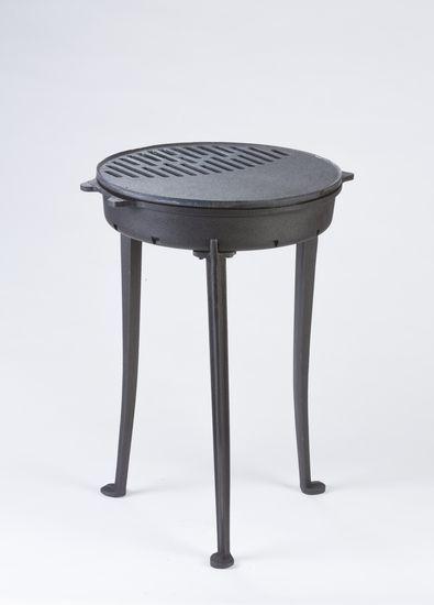 Litinový gril KELUT Globe-Fire - vše pro venkovní posezení na zahradě a na terase