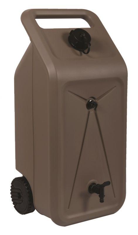 Nádrž na vodu 50 l mobilní na kolečkách Lienbacher - vše pro venkovní posezení na zahradě a na terase