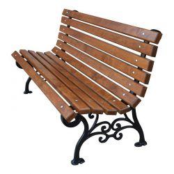 Venkovní litinová lavička Klasik 150 cm