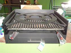 Zahradní BBQ gril na dřevěné uhlí BP-45 Bronpi - vše pro venkovní posezení na zahradě a na terase
