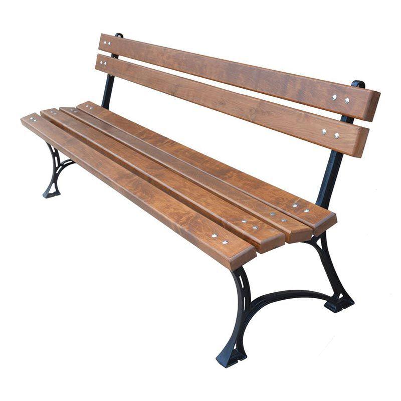 Zahradní lavička Královská BO 150 litinová RB Garden - vše pro venkovní posezení na zahradě a na terase
