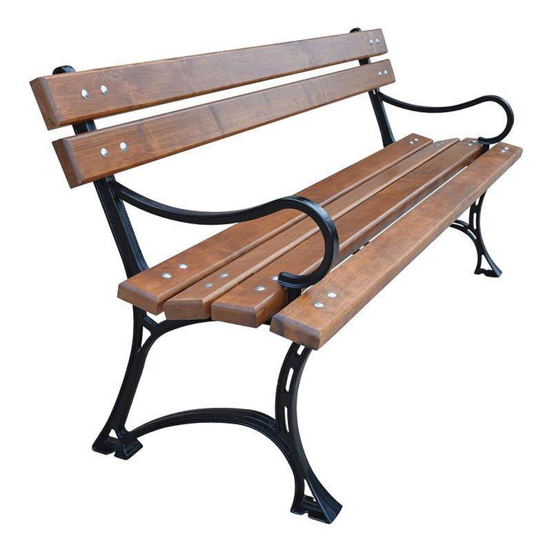 Zahradní lavička Královská LO 150 litinová RB Garden - vše pro venkovní posezení na zahradě a na terase