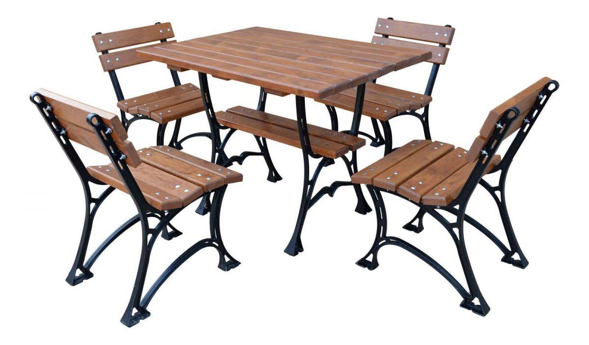 Zahradní sedací souprava litinová A 100 RB Garden - vše pro venkovní posezení na zahradě a na terase