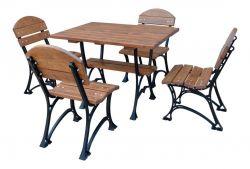 Zahradní sedací souprava litinová B 100 RB Garden - vše pro venkovní posezení na zahradě a na terase