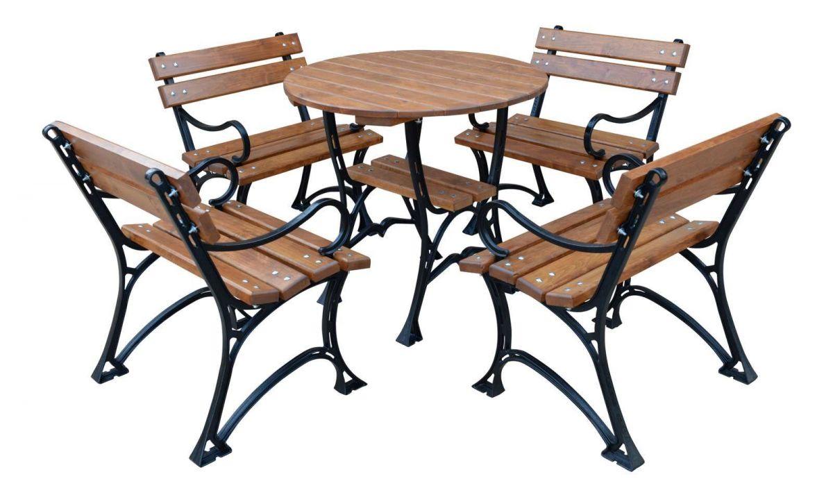 Zahradní sedací souprava Královská III RB Garden - vše pro venkovní posezení na zahradě a na terase