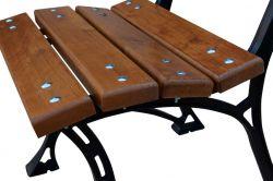 Zahradní židle Královská litinová RB Garden - vše pro venkovní posezení na zahradě a na terase