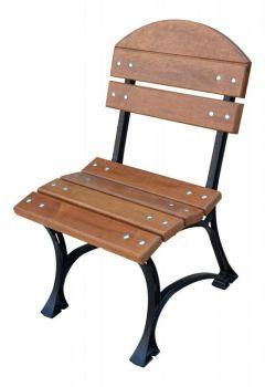 Zahradní židle Královská litinová De Luxe