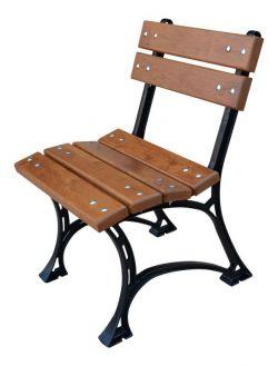 Zahradní židle Královská litinová