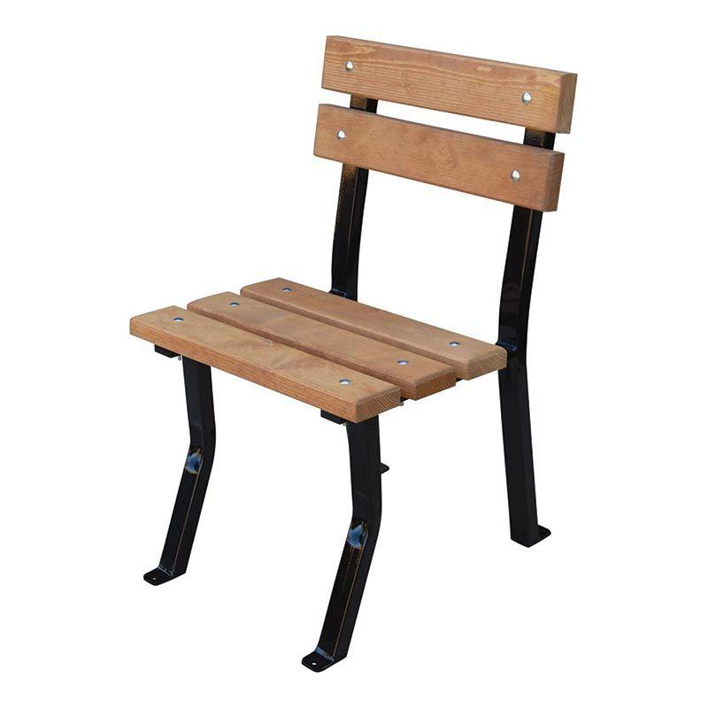 Židle zahradní Nela dřevo a ocel RB Garden - vše pro venkovní posezení na zahradě a na terase