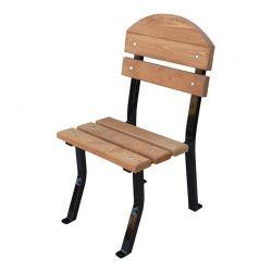 Židle zahradní Nela Lux dřevo a ocel RB Garden - vše pro venkovní posezení na zahradě a na terase