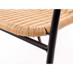 Ratanová židle Bistro světlá Happy Green - vše pro venkovní posezení na zahradě a na terase