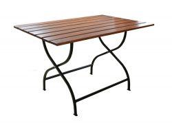 Zahradní stůl dřevěný WEEKEND 120 x 80 cm