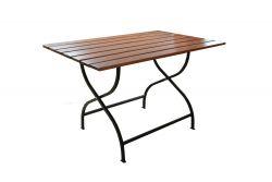 Zahradní stůl dřevěný WEEKEND 120 x 80 cm Rojaplast - vše pro venkovní posezení na zahradě a na terase