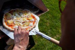 Aduro Prisma černá - pizza pec a venkovní krb - vše pro venkovní posezení na zahradě a na terase