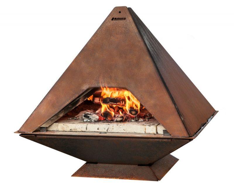 Aduro Prisma nízkolegovaná ocel - pizza pec a venkovní krb - vše pro venkovní posezení na zahradě a na terase