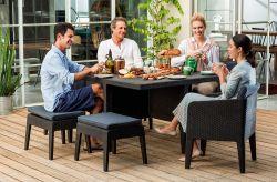 Chcete levný zahradní nábytek, který vypadá jako luxusní ratanový zahradní nábytek?
