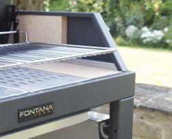 EGEO 80- gril venkovní Fontana Forni - vše pro venkovní posezení na zahradě a na terase