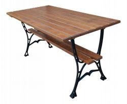 Litinový zahradní stůl 150 hranatý RB Garden - vše pro venkovní posezení na zahradě a na terase