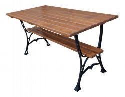 Litinový zahradní stůl 150 hranatý
