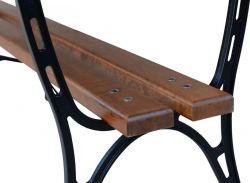 Litinový zahradní stůl 180 hranatý RB Garden - vše pro venkovní posezení na zahradě a na terase