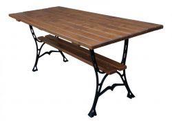 Litinový zahradní stůl 180 hranatý