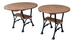 Litinový zahradní stůl 80 kulatý RB Garden - vše pro venkovní posezení na zahradě a na terase