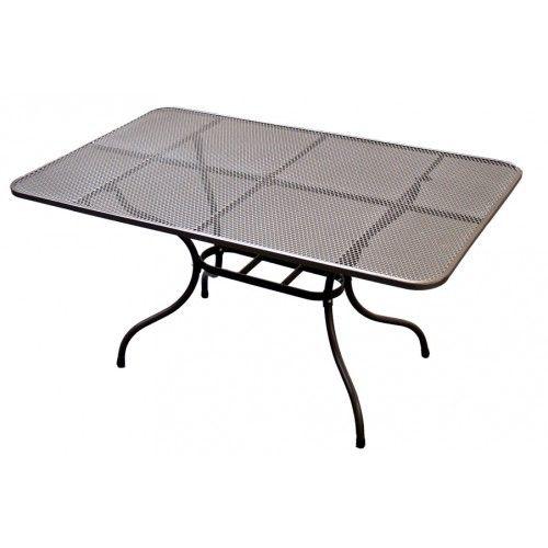 TAKO 145x90 cm stůl kovový Unikov - vše pro venkovní posezení na zahradě a na terase