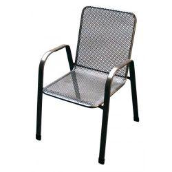 Unikov Sága nizká, židle kovová