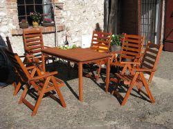 Zahradní nábytek sestava SORENTO 6+1 Rojaplast - vše pro venkovní posezení na zahradě a na terase