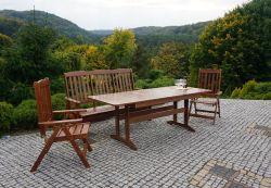 Zahradní sestava ANETA dřevo borovice Rojaplast - vše pro venkovní posezení na zahradě a na terase