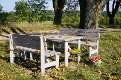 Zahradní sestava VIKING 150 šedá Rojaplast - vše pro venkovní posezení na zahradě a na terase