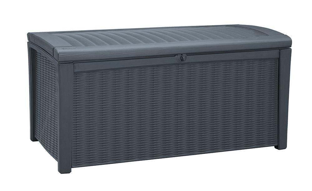 BORNEO úložný box 416L Keter - vše pro venkovní posezení na zahradě a na terase