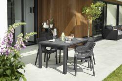JULIE stůl - antracit Keter - vše pro venkovní posezení na zahradě a na terase