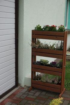 Květináč STOJAN Rojaplast - vše pro venkovní posezení na zahradě a na terase