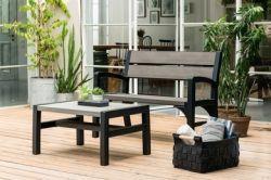 Lavice WLF double (MONTERO) Keter - vše pro venkovní posezení na zahradě a na terase
