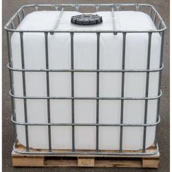 Nádrž na deštovou vodu 1000 l - IBC kontejner nový RB Garden - vše pro venkovní posezení na zahradě a na terase