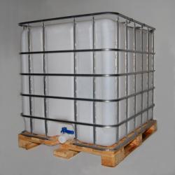 Nádrž na deštovou vodu 1000 l - IBC kontejner nový