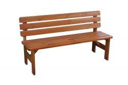 VIKING LAKOVANÁ lavice - 150 cm Rojaplast - vše pro venkovní posezení na zahradě a na terase