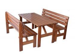 VIKING LAKOVANÁ lavice - 180 cm Rojaplast - vše pro venkovní posezení na zahradě a na terase