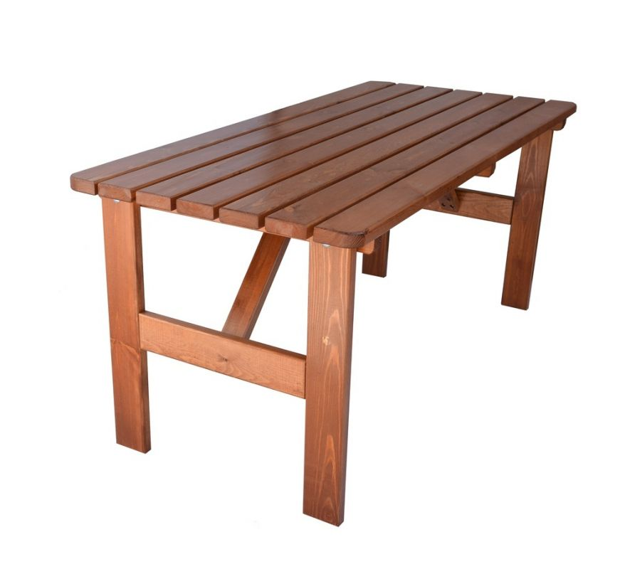 VIKING LAKOVANÝ stůl - 180cm Rojaplast - vše pro venkovní posezení na zahradě a na terase
