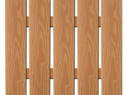 WPC plotovka široká 3D line olše