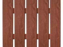 WPC plotovka široká 3D line třešeň